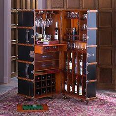 Stateroom Steamer Trunk Bar $2995
