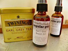 Beard Oil  Earl Grey All Natural  Bergamot  by RegularGuySoap, $10.00