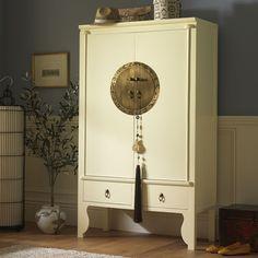 Good Lacquer Wedding Cabinet Cream Lacquer