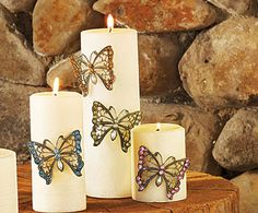 Butterfly Candle Pins