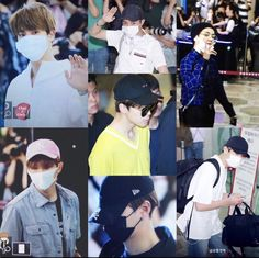 BTS arrive in Japan 29/5/17 for wings tour
