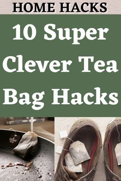 Hacks Diy, Cleaning Hacks, Life Hacks Home, Used Tea Bags, Fun Cup, Healing Herbs, Recycled Crafts, A 17, Kitchen Hacks