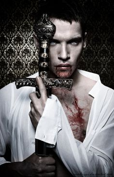 Jonathan Rhys Meyers as Dracula. ***update*** I'm crazy about this series. I love it so badly. Can't wait until it comes back out on Netflix, Jonathan Rhys Meyers though- he's a hottie ! Male Vampire, Vampire Love, Vampire Art, Vampire Bride, Vampire Stories, Vampire Fangs, Kei Visual, The Ghostbusters, Vampires And Werewolves