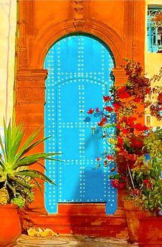 Rabat, Morocco door ..rh