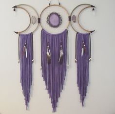 Wall Hanging Crochet Dream Catchers 17 Ideas For 2019 You Are My Moon, Dream Catcher Craft, Lace Dream Catchers, Dream Catcher Boho, Diy And Crafts, Arts And Crafts, Eclectic Witch, Ideias Diy, Deco Design