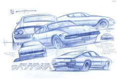 Ferrari Study by JORGE ANDRES PINILLA FONSECA, via Behance