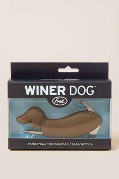 Dachshund Winer Dog Corkscrew