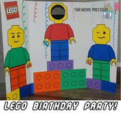 Lego Birthday Party!