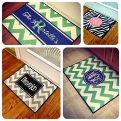 Door Mats - Southern Belle Boutique  Love these