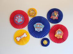 Paw Patrol Rosettes by TheLittleExtrasbyDar on Etsy