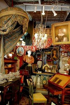 Get lost in the Paris Flea Market!!! You can spend days there shopping all the neat shops!!!