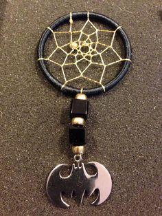 A personal favorite from my Etsy shop https://www.etsy.com/listing/247803993/batman-dreamcatcher