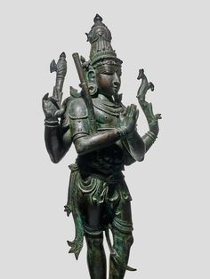 Southeast Asian Arts, Pacific Place, Four Arms, Battle Axe, Madison Avenue, Indian Gods, South India, 17th Century, Statue Of Liberty