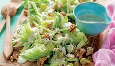This famous salad was created way back in 1893 in New York City's the Waldorf Hotel (not the Waldorf - Astoria).