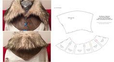 Ciri Fur Collar Pattern by AmazingRogue.deviantart.com on @DeviantArt