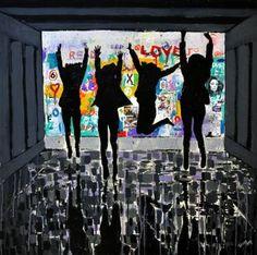 "Saatchi Art Artist Tezcan Bahar; Painting, ""Wall - 01"" #art"