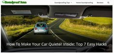 Searches related to how to make your car quieter inside  how to reduce noise in car interior  how to make your car exhaust quieter  how to make your car quieter on startup  dynamat  how to make a classic car quieter  wheel well sound deadening  how to reduce road noise from tires  how to quiet tire noise