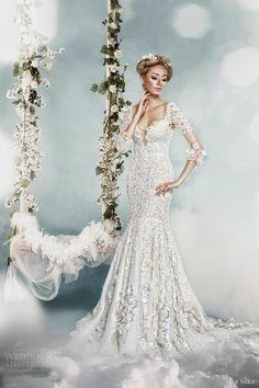 LUXURY 2014 WEDDING GOWNS | dar sara 2014 lace wedding dress