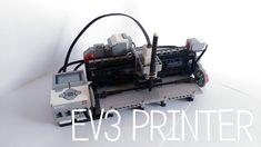 LEGO EV3 PRINTER - STUDIO M - YouTube Lego Machines, Lego Ideas, Don't Forget, Printer, Studio, Youtube, Printers, Studios, Youtubers