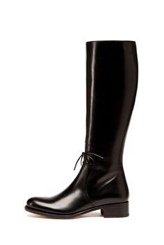 fall 2012, Rupert Sanderson, shoes, boots + booties, black