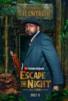 Destorm Power, Escape The Night, Youtube Original, Joey Graceffa, Youtubers, In This Moment, Season 4, Fanart, Posters