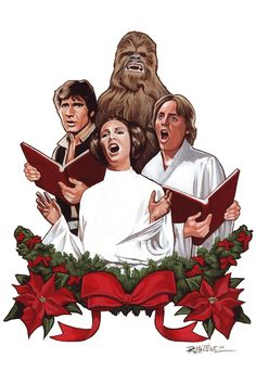 Epic-ly Horrible: The Star Wars Holiday Special.anomalypodcas - Star Wars Canvas - Latest and trending Star Wars Canvas. - Epic-ly Horrible: The Star Wars Holiday Special. Star Wars Christmas, Christmas Carol, Christmas Humor, Xmas, Christmas Comics, Charlie Brown Christmas, Christmas Greetings, Star Wars Holiday Special, Chewbacca