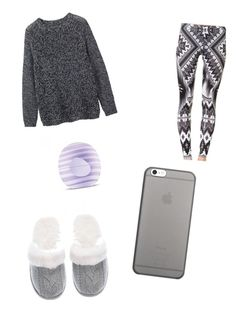 """Domací oblečení"" by jana-zy on Polyvore featuring Toast, Victoria's Secret, Native Union and Eos"