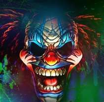 Evil Clowns From Outer Space - Bing Images Scary Clown Face, Freaky Clowns, Joker Clown, Halloween Clown, Joker Art, Evil Clowns, Funny Clowns, Halloween Drawings, Creepy Stuff