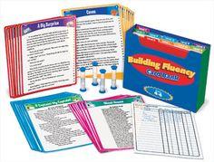 Grant Idea: Building Fluency Card Bank $49.95