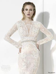 ZsaZsa Bellagio: YolanCris Wedding Dress Collection