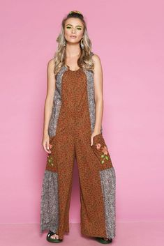 Salopeta VAMA - Mathilde Look Chic, Jumpsuit, Mood, Summer, Dresses, Fashion, Overalls, Vestidos, Moda