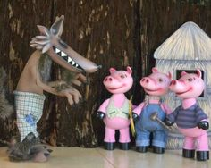 The Three Little Pigs & the Big Bad Wolf from 'Carnival of the Animals'