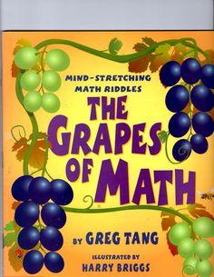 The Grapes Of Math: Greg Tang, Harry Briggs: 9780439598408: Amazon.com: Books