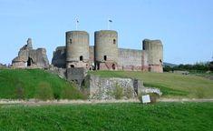 Rhuddlan Castle (Castell Rhuddlan) is a castle located in Rhuddlan, Denbighshire, Wales. It was erected by Edward I, in 1277 following the First Welsh War.