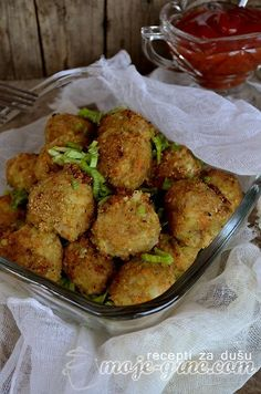 Ćuftice od čičoke sa ribom / Meatballs with Jerusalem artichokes and fish