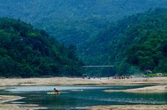 Beautiful Jaflong in Sylhet. Number eight among the best places to visit in Bangladesh.