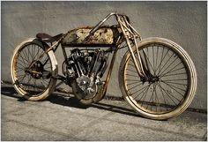 1914 Pope Boardtracker | Bobber Inspiration - Bobbers and Custom Motorcycles | the-ghost-darkness September 2014