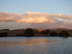 Desde las Islas Canarias  ..Fotografias  : Atardecer en la Charca de Maspalomas ...Gran Canar...