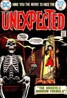 DC Comics' The Unexpected #154. Cover by Nick Cardy.  #Unexpected #NickCardy