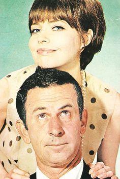 Barbara Feldon and Don Adams for Get Smart, 1965 - 1970 via http://hollywoodlady.tumblr.com/