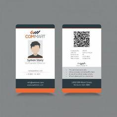 Moderno sencilla ID identidad corporativa