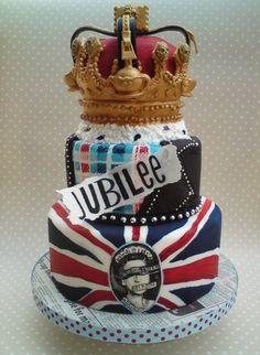 British invasion Jubilee cake