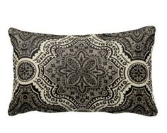 7 Sizes Available: Black Throw Pillow Cover Decorative Pillow Black Pillow Accent Pillow Lumbar Pillow 12x16 18x18 12x24 22x22 24x24 Inches