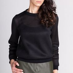 Sloane - Named / patron de couture pour coudre un sweat shirt