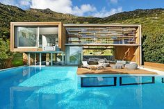 Hout Bay Villa Rental: The Spa House - An Elegant & Ultramodern Retreat With Amazing Panoramic Views | HomeAway