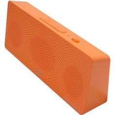 Orange MobiTour Rechargeable Portable Bluetooth Stereo Speaker