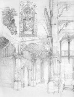 alan_lee_the lord of the rings_sketchbook_10_edoras03.jpg 1,211×1,600 pixels