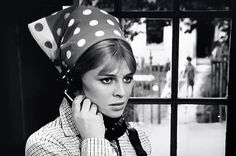 "Julie Christie in the oscar-winning ""Darling"", directed by John Schlesinger (1965)"
