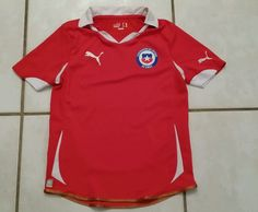 PUMA Chile National Team Soccer Jersey Youth Medium  #Puma #Chile