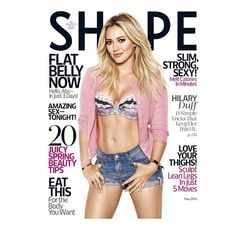 Love @shape_magazine and was so honored to be on the cover! It's the May issue! Go pick it up this Tuesday!